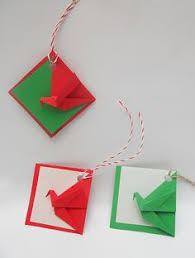 origami decorations crane place card holder wedding place