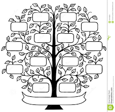 family tree eps stock vector image 43443826