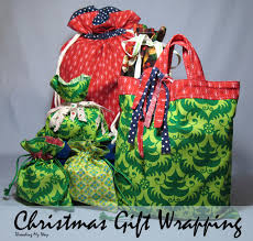 reusable fabric gift bags to sew so sew easy