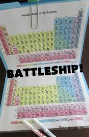 Learning The Periodic Table Periodic Table Battleship Teach Beside Me