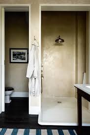 Waterproof Plaster For Bathroom Walk In Shower Tadelakt Plaster Marble Base Shower U0026 Wet Room