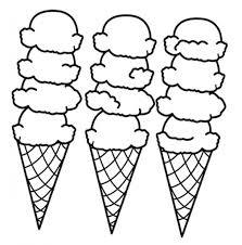ice cream sandwich coloring pages bulk color pertaining to ice