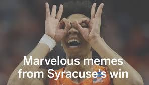 Syracuse Meme - memes from syracuse basketball s upset of virginia that will make