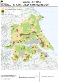 Map Of Yorkshire England by Local Enterprise Partnership Detailed Rural Urban Maps Census
