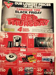 canadian tire canada black friday 2014 flyer sales and deals
