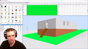 Sweet Home 3d Floor Plans by Creating A Sloping Ground In Sweet Home 3d Youtube