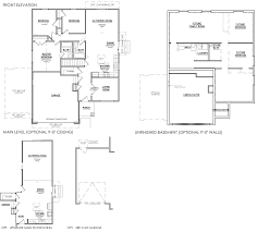 Floorplan Com by Concord Floor Plan Salisbury Homes