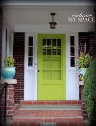 What Color To Paint Front Door Green Front Door Myonehouse Net