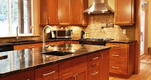 Light Cherry Kitchen Cabinets Amazing Kitchen Maple Shaker Cabinets Image Of Light