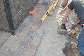 exterior mesmerizing traditional how to install pavers design