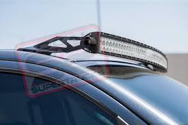 curved led light bar light bar roof mount brackets for 50 curved led 2007 2018 toyota tundra