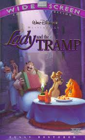 amazon lady tramp vhs barbara luddy larry roberts