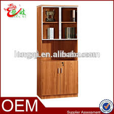 bookcase with file cabinet china supplier glass door bookcase file cabinet wood lockable