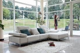 canap tissu blanc canapé modulable contemporain en tissu blanc metropolis
