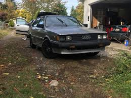 daily turismo seldom seen 1984 audi coupe gt