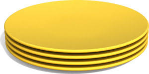green eats snack plates 4 pack choose color enkore