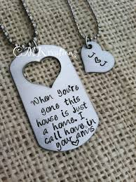 his and hers dog tags 21 best lovee images on necklaces