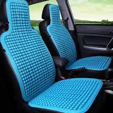 housse plastique siege auto 1pcs voiture plastique tapis de refroidissement de sièges housse de