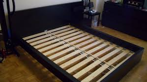 Malm Ikea Bed Frame Fancy Picture Of Black Wood Ikea Malm Bed Frame Including