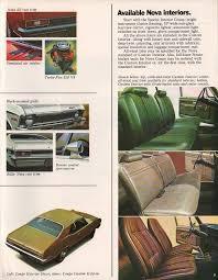 Nova Interiors 1972 Nova Specs Colors Facts History And Performance Classic
