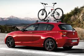 nissan juke bike rack bmw to show new 1 series performance concept and new power kits in
