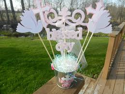 baptism table centerpieces baptism christening table decoration centerpiece