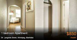 1 bedroom apartment winnipeg 34 langside street winnipeg apartment for rent b107153