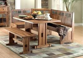 Corner Entry Table Corner Entry Table Wood Kitchen Table With Bench Seating Designs