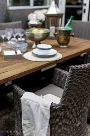 How To Set A Table How To Set A Casual Outdoor Table French Vintage Style So Much