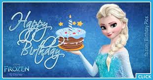 elsanna green card frozen happy birthday card happy birthday