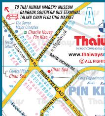 termina map free maps map of rattanakosin island chinatown