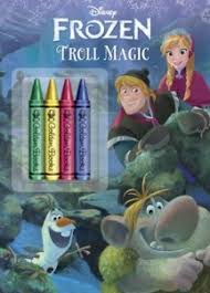 amazon disney frozen coloring book crayons 2 35