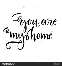 home decor wall posters hand drawn vector lettering motivating modern calligraphy home