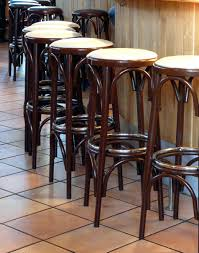 kitchen bar stool ideas rustic reclaimed wood bar stools with low back design photo