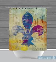 Fleur De Lis Shower Curtains Shower Curtain And More Fleur De Lis French Inspired New