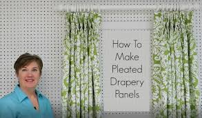 How To Make Drapery Panels How To Sew Draperies U0026 Curtains Newton Custom Interiors