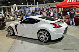 nissan 370z modified black nissan 370z custom body kit car pictures
