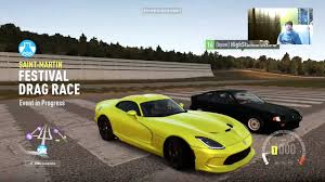 build dodge viper forza horizon 2 viper srt build test hits standing mile