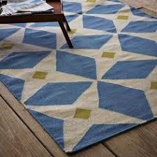 ikat links wool rug horseradish westelm rug could look nice