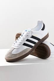 white samba adidas originals samba leather sneaker outfitters