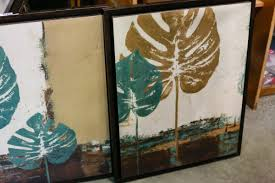pair of decorator home sense pictures big valley auction