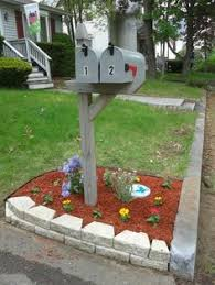 Mailbox Flower Bed Mailbox Flower Bed For The Home Pinterest Mailbox Flowers