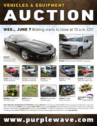 sold june 7 vehicles and equipment auction purplewave inc