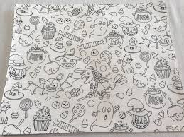 halloween placemats creative placemats artistic fabric