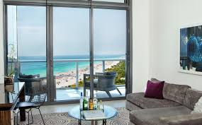 hotel suites in miami w south beach fantastic ocean view suite with balcony