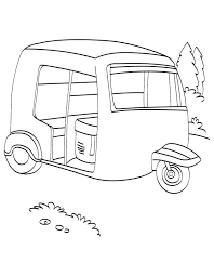 coloring pages download free printable auto rickshaw coloring page download free printable