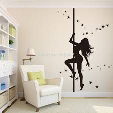 bedroom name dance girls wall art sticker decal home diy