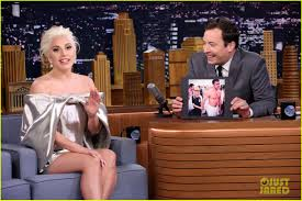 miranda lambert engagement ring lady gaga talks engagement ring with jimmy fallon photo 3478621