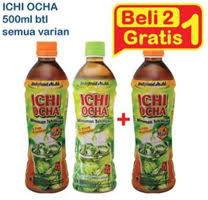 Teh Ichi Oca promo harga ichi ocha kopi teh minuman bubuk terbaru minggu ini