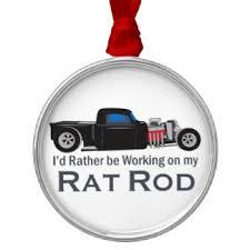 rat rod ornaments keepsake ornaments zazzle